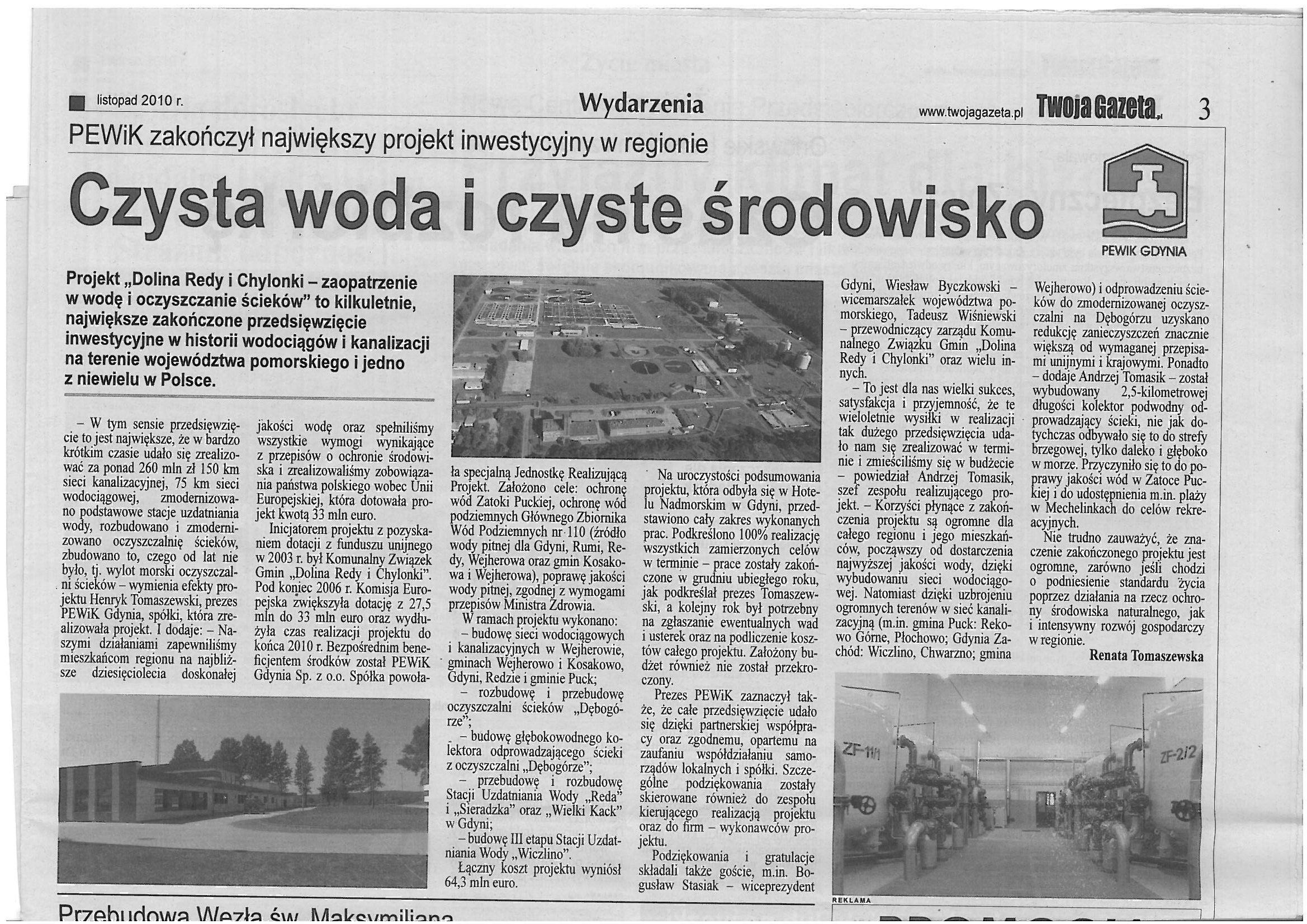 Twoja Gazeta listopad 2010 r